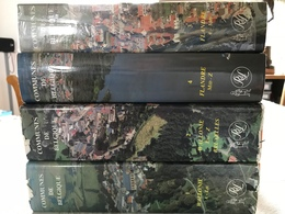 COMMUNES DE BELGIQUE DICTIONNAIRE D'HISTOIRE ET DE GEOGRAPHIE ADMINISTRATIVE 4 TOMES - Dictionaries