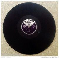 """78 TRS """" LES PAUL * GOOFUS / BRAZIL < TELEFUNKEN CAPITOL 421 - 78 T - Disques Pour Gramophone"""