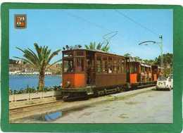 Mallorca Puerto De Soller  Animation  Le Tramway  Du Port   CPM  N° 2901  état Impeccable - Mallorca