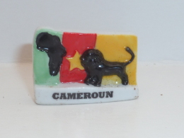 FEVE LES PAYS DRAPEAU, CAMEROUN - Regions
