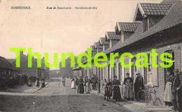 CPA ZONNEBEKE RUE DE BECELAERE  BECELAERESTRAAT - Zonnebeke