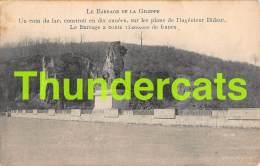 CPA LE BARRAGE DE LA GILEPPE MARCOVICI - Gileppe (Barrage)