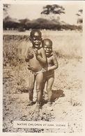 Native Children At Juba - Fotocard - 1957     (180615) - Sudan