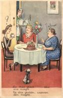 Humour - Les Trois Grâces ... Dont Une Maigre - De Drie Gratiën, Waarvan één Magere. - Humour