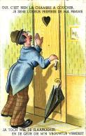 Humour - Oui, C'est Bien La Chambre à Coucher, Je Sens L'odeur Préférée De Ma Femme. - Humour