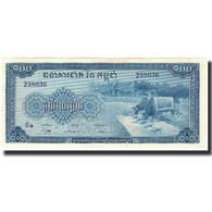 Billet, Cambodge, 100 Riels, 1970, KM:13b, NEUF - Cambogia