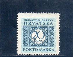 CROATIE 1942 * - Croatia