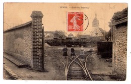 1775 - Lèves ( E. & L. ) - Gare Du Tramway - Sabrail-Bural éd. - - Lèves
