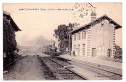 1776 - Marcilly Sur Eure ( Eure ) - La Gare ( Vue Sur Les Quais ) - G.Foucault à Dreux - - Lèves