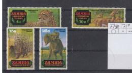 Sambia Michel Cat.No. Mnh/** 77/80 - Zambia (1965-...)