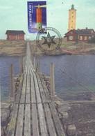 29008. Tarjeta MAXIMA Faro FILNLANDIA (Suomi) , Helsingfors 2003. Lighthouse - Finlandia
