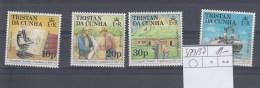 Tristan Da Cunha Michel Cat.No. Sheet 429/432 - Tristan Da Cunha