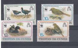 Tristan Da Cunha Michel Cat.No. Sheet 513/516 Birds - Tristan Da Cunha