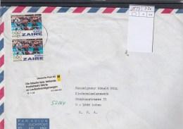 Zaire Michel Cat.No. Cover 1127 Multi - 1990-96: Usados