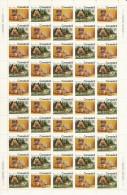 CANADA 1973 SCOTT/UNITRADE 566-567** FULL SHEET CAT VALUE US $20. - Ganze Bögen