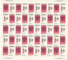 CANADA 1973 SCOTT/UNITRADE 568-569** FULL  SHEET CAT VALUE US $17.00 - Ganze Bögen