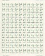 CANADA 1973 SCOTT/UNITRADE 567** FULL  SHEET CAT VALUE US $18.75 - Full Sheets & Multiples