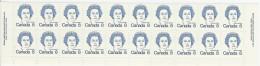 CANADA 1973 SCOTT/UNITRADE 591** BOTTOM  OF  SHEET PLATE 2 CAT VALUE US $4.50 - Ganze Bögen