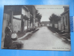 Carte Postale Froissy Le Tambour De Ville Lacroix - Marchands Ambulants