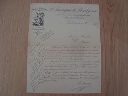 LETTRE LE BON GENIE VENTE AU COMPTANT PARIS 1902 - France