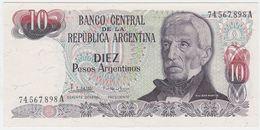 Argentina P 313 - 10 Pesos Argentinos 1983 1985 - AUNC - Argentina