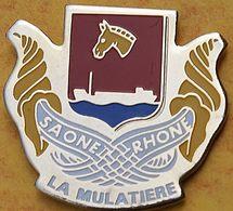 D D 72.....BLASON.......LA MULATIERE.........RégionRhône-Alpes...... DépartementRhône - Villes
