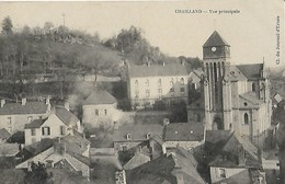CARTE POSTALE ORIGINALE ANCIENNE : CHAILLAND VUE PRINCIPALE MAYENNE (53) - Chailland