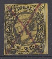 Sachsen Minr.11 Gest. Nr.-St. 191 Lockwitz - Sachsen