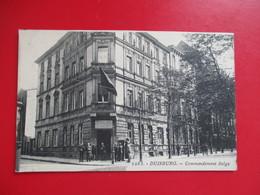 CPA ALLEMAGNE DUISBURG COMMANDEMENT BELGE - Duisburg