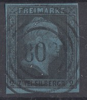 Preussen Minr.3 Gestempelt Nr.-St. 803 Langerfeld Feuser 100 Punkte - Preussen