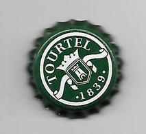 BELGIQUE / CAPSULE BIERE TOURTEL - FOND VERT - Beer