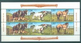 NEW ZEALAND - MNH/** - 1984 - HEALTH  - Yv Bloc 50 Mi 906-908 SG MS1348 Sc B120a  - Lot 17138 - Blocks & Sheetlets