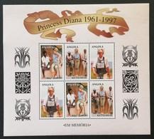 Angola 1998  Diana Princess Of Wales - Angola