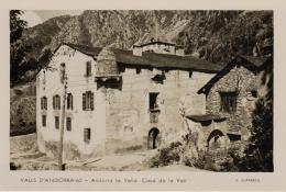 CPA ANDORRE  @ Casa De La Vall 62 @ - Andorra
