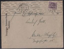 DR Brief EF Minr.276 Hannover 17.9.23 - Deutschland