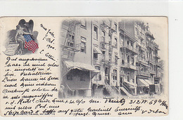 New York - China Town & Joss House - 1900    (180615) - Piazze
