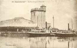 - Charente Maritime -ref-H120- Le Chapus - Fort Du Chapus A Maree Basse - Forts -  Bateaux - Edit. Braun N° 318 - - France