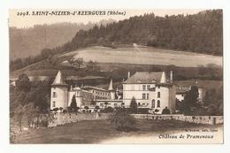 69 Saint Nizier D'Azergues, Chateau De Pramenoux (3684) - France