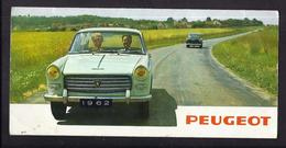 Dépliant Publicitaire 1962 PEUGEOT Modèles 403 404 Berline Et Utilitaires - Automobile Fourgon Camionnette Limousine - Cars