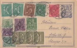 DR GS Zfr. Minr.143,4x 159,161,2x 162,187,193,206,2x 224,226 Bad Kösen 18.1.23 - Deutschland