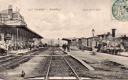 CPA D'AURILLAC - Quai De La Gare. - Aurillac
