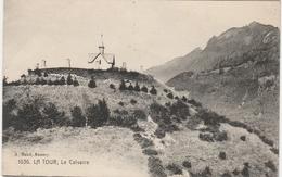 Haute Savoie . La Tour , Le Calvaire . - Francia