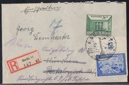 DR R-Brief Mif Minr.711,750 SST Berlin 31.3.40 - Deutschland