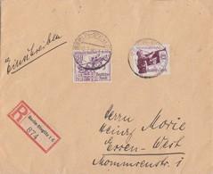 DR R-Brief Mif Minr.585,616 Berlin-Steglitz 2.7.36 Gel. Nach Essen - Deutschland