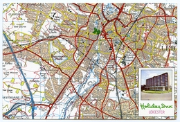MAP / ADVERTISING : HOLIDAY INN - LEICESTER - Maps