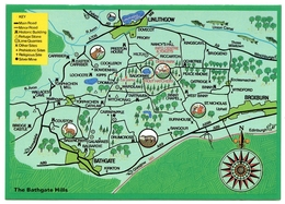 MAP / ADVERTISING : THE BATHGATE HILLS / BROXBURN, LINLITHGOW - Maps