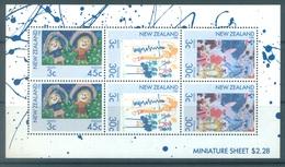 NEW ZEALAND - MNH/** - 1986 - HEALTH - Yv Bloc 53 Mi 968-970 SG MS1403 Sc B126a  - Lot 17141 - Blocs-feuillets
