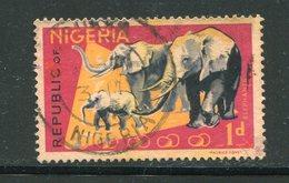 NIGERIA- Y&T N°178- Oblitéré - Elefanti