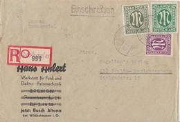 AM-Post R-Brief Mif Minr.15,29,31 Wildeshausen 17.7.46 - Bizone