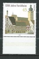 Germany 2005 The 1200th Anniversary Of Forchheim. MNH - [7] Federal Republic